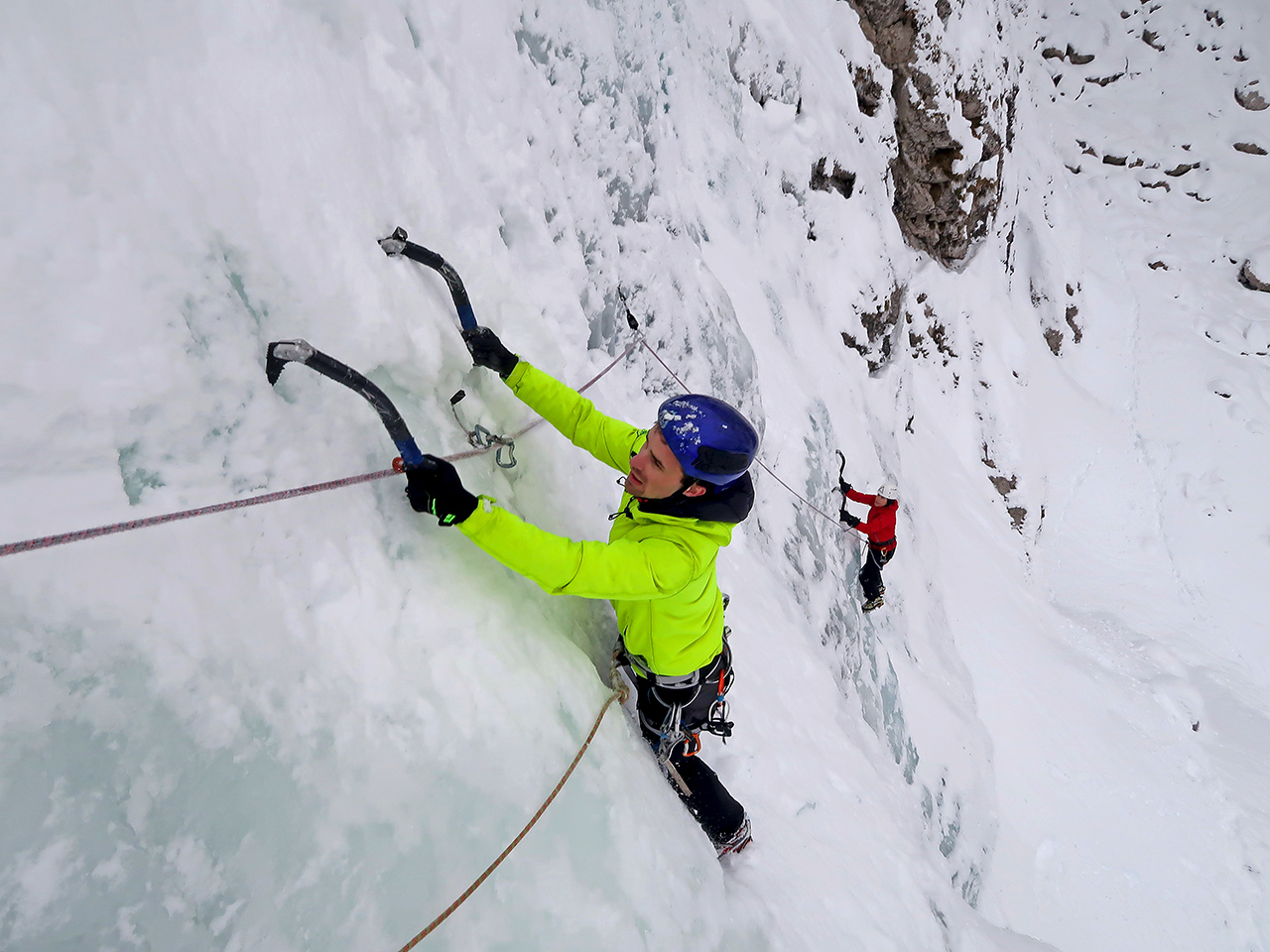 Ice climbing Slovenia-Julian Alps 1280-980