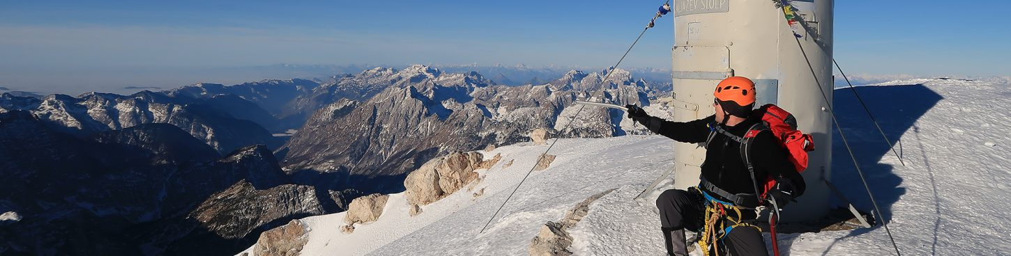 Mount Triglav Winter Ascent