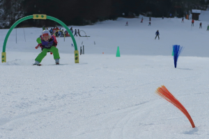 Snowman-skiing -course-winter-holidays 2
