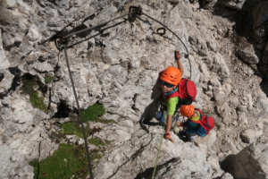 via-ferrata-jof-di-montasio-pipans-ladder-3